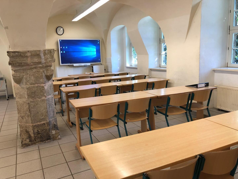 Unterricht in modernen Räumen