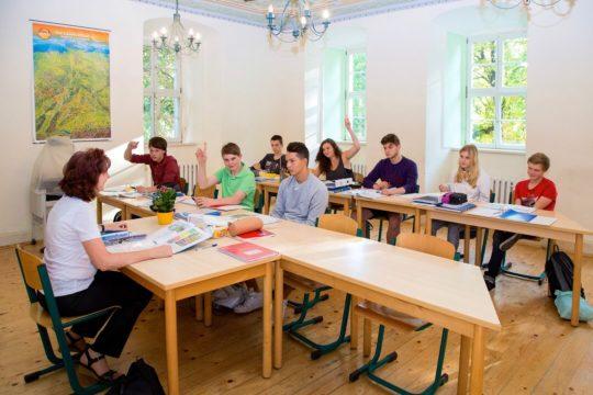 Unterricht in unseren kleinen Lerngruppen ist sehr effektiv